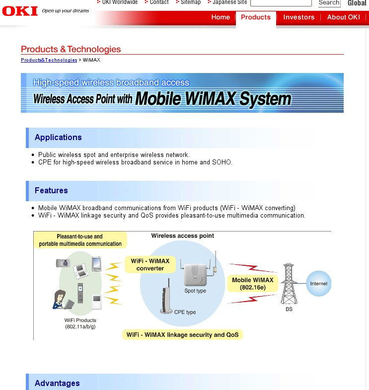 OKI WiMAX English