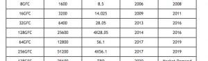 Fibre Channel Data rate