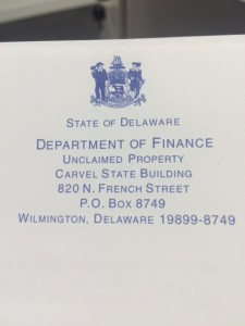 Delaware Unclaimed Property