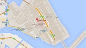 Haneda map